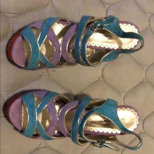 Multi color heels